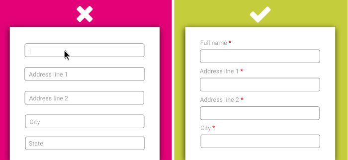 Accessibility Forms Example